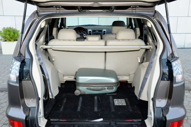 Mitsubishi Outlander II - bagażnik