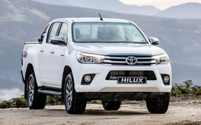 Namibia - Toyota Hilux