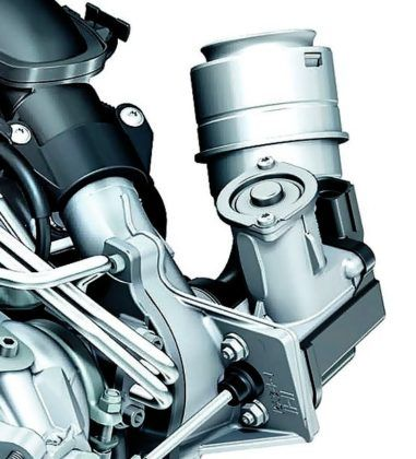 Nastawnik turbosprężarki
