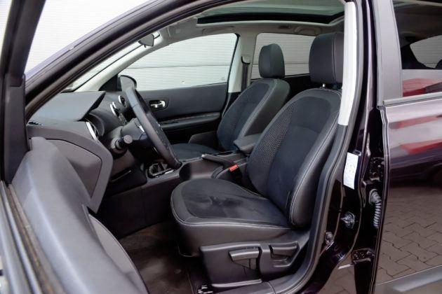 Nissan Qashqai I - fotel kierowcy