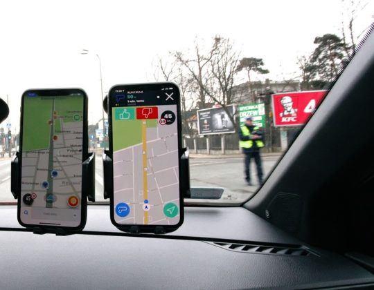 Ostrzeżenia o mobilnych kontrolach