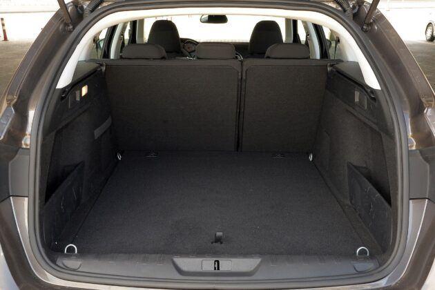 Peugeot 308 II bagażnik
