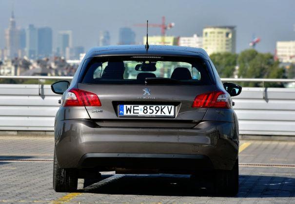 Peugeot 308 II - tył