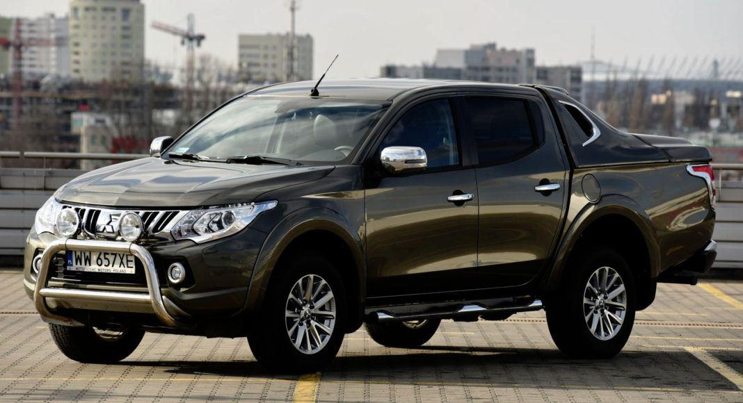 Pick-upy - najgorszy - Mitsubishi L200