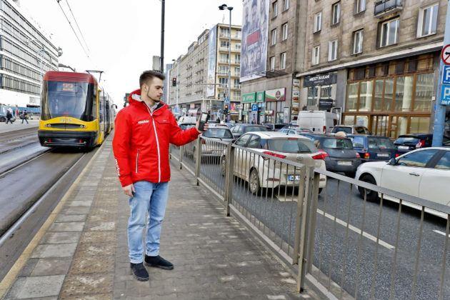 Pomiar stężenia pyłów w centrum miasta