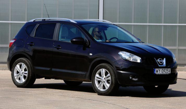Najniższe przebiegi w klasie SUV-ów - Nissan Qashqai.