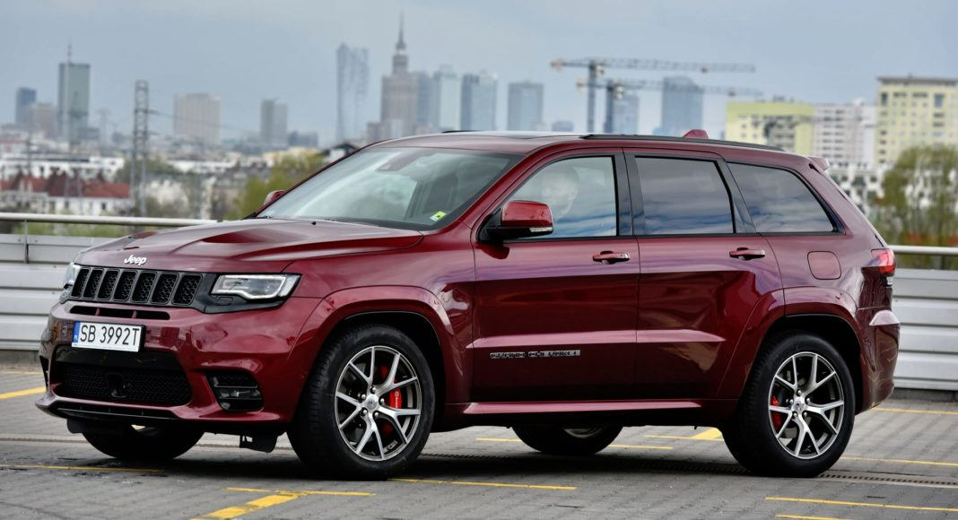 SUVy - najgorszy - Jeep Grand Cherokee SRT