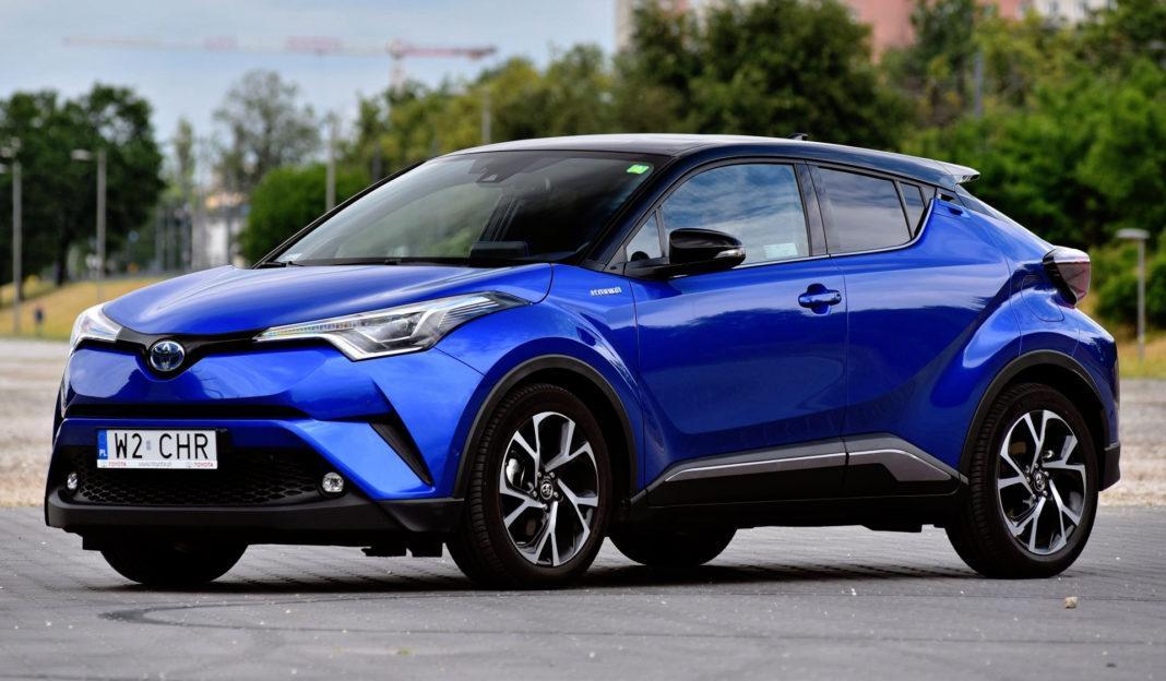 SUVy - najlepszy - Toyota C-HR Hybrid