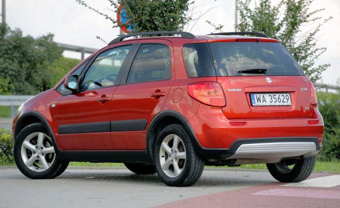 Suzuki SX4 - tył