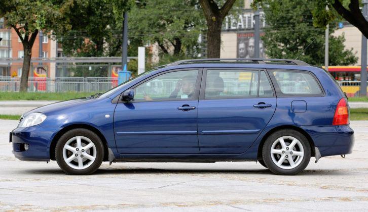 Toyota Corolla IX - bok