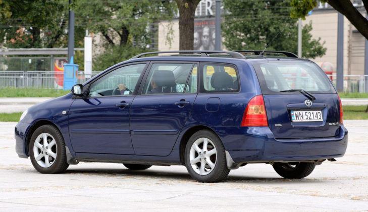 Toyota Corolla XI - tył