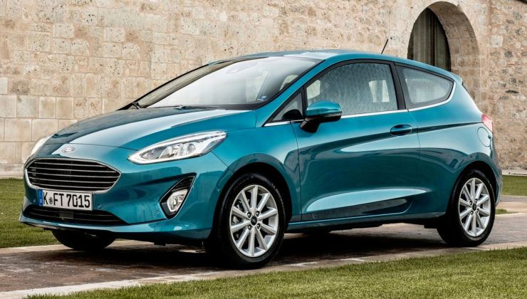 Wielka Brytania - Ford Fiesta