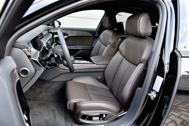 Audi A8 - fotel kierowcy