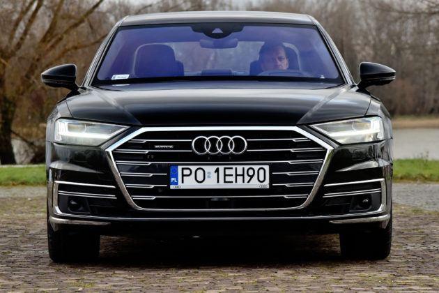 Audi A8 - przód