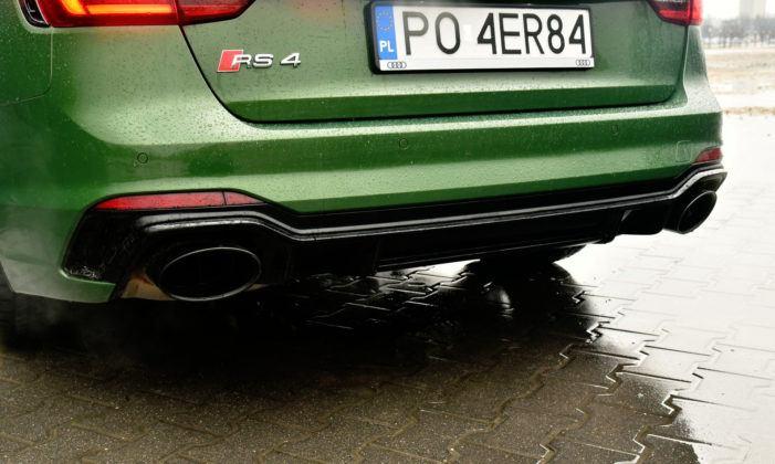 Audi RS 4 - wydech