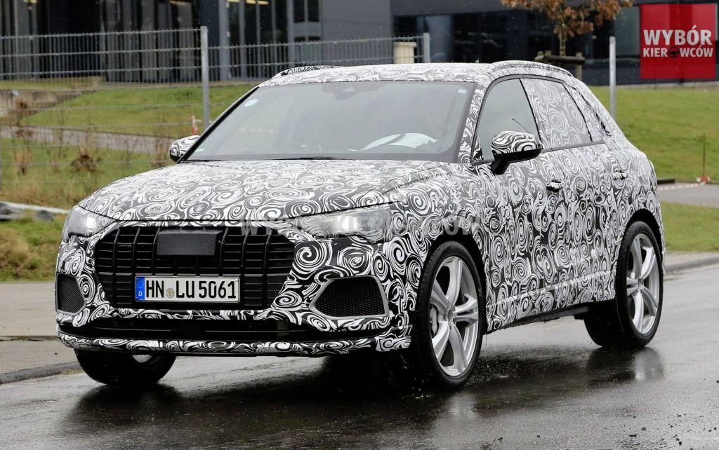 Audi SQ3 - przód