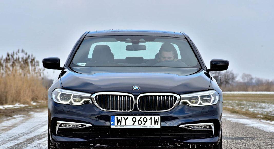 BMW 530e - przód
