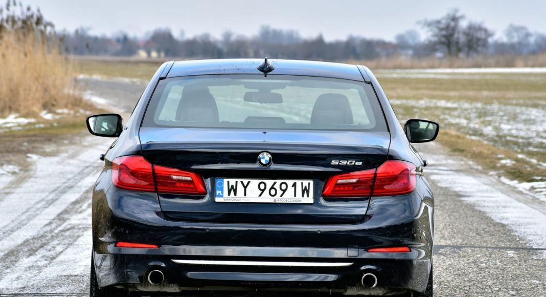 BMW 530e - tył