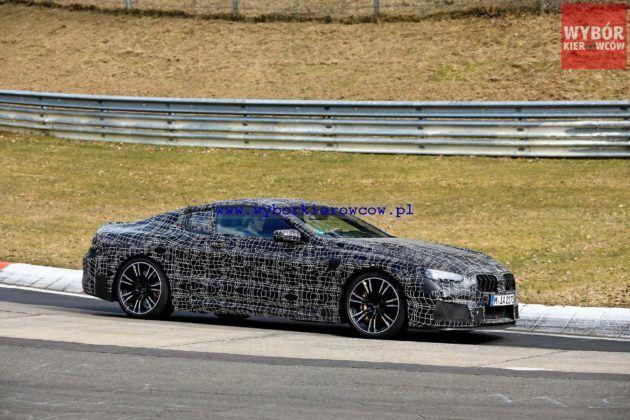 BMW M8 - bok (fot. Automedia)