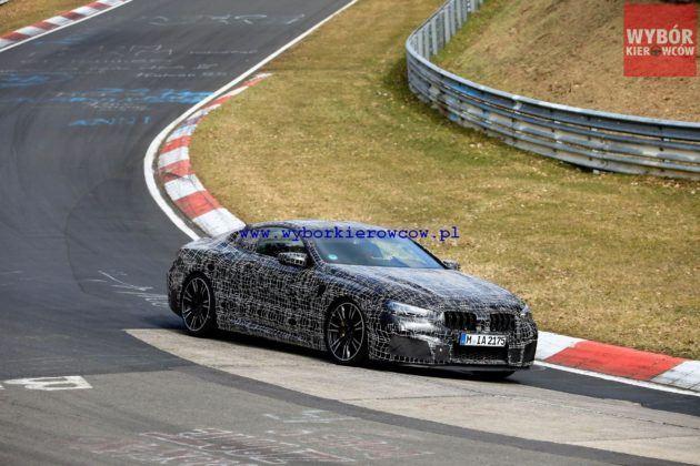 BMW M8 - przód (fot. Automedia)