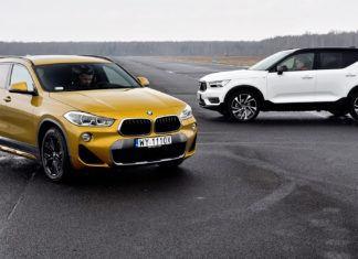 BMW X2, Volvo XC40 - PORÓWNANIE
