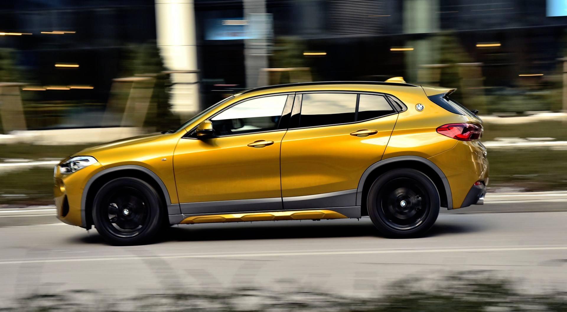 BMW X2 - jazda