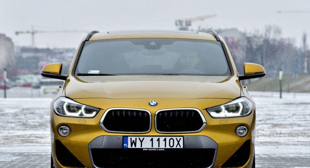 BMW X2 - przód