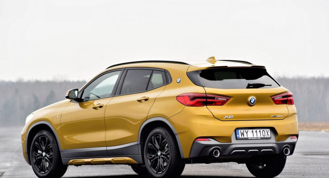BMW X2 - tył