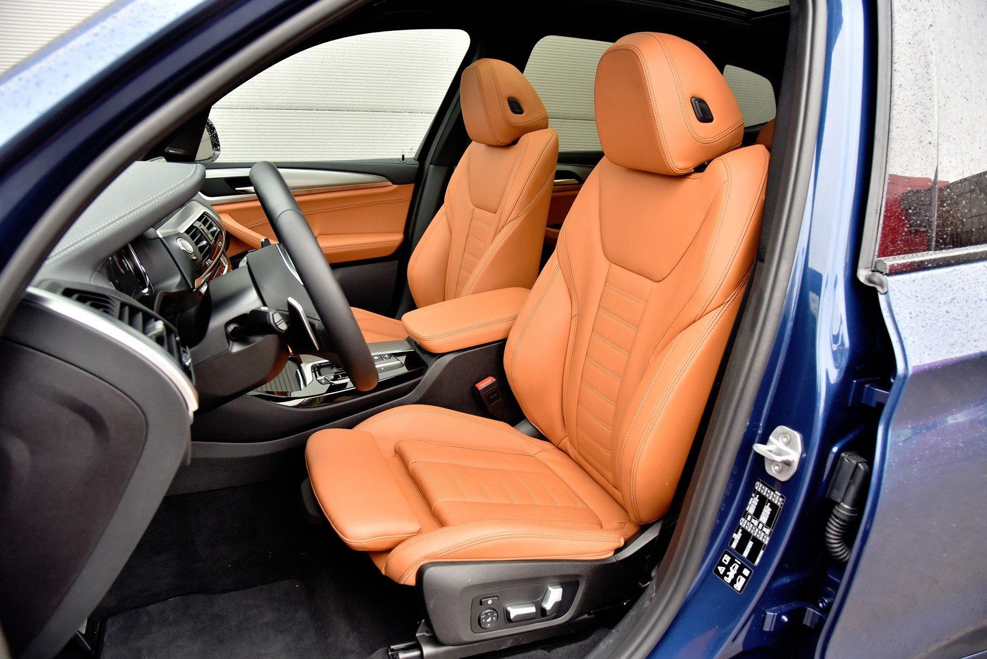 BMW X3 - fotel kierowcy