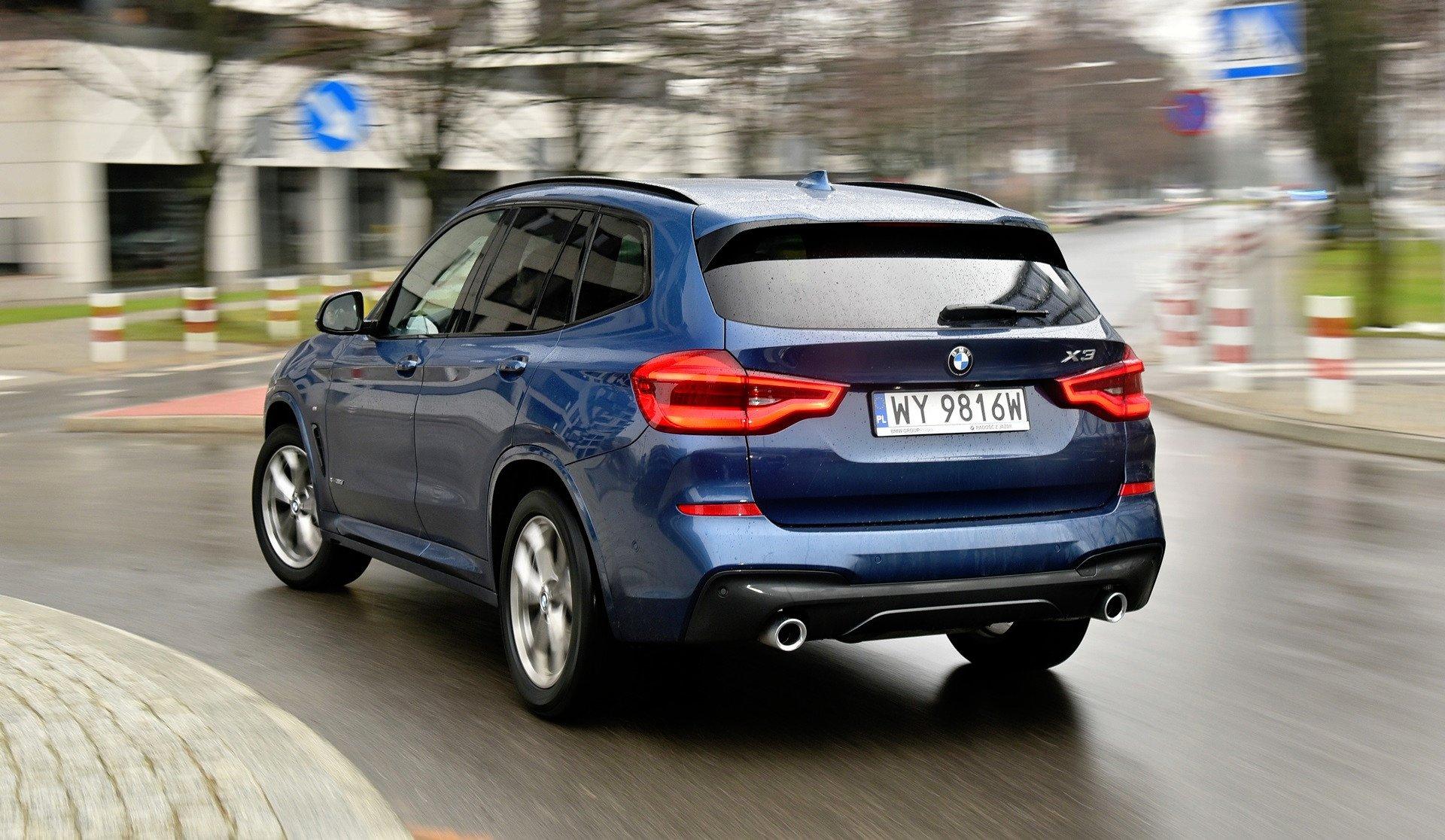 BMW X3 - jazda