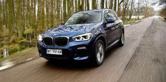 BMW X3 - otwierające