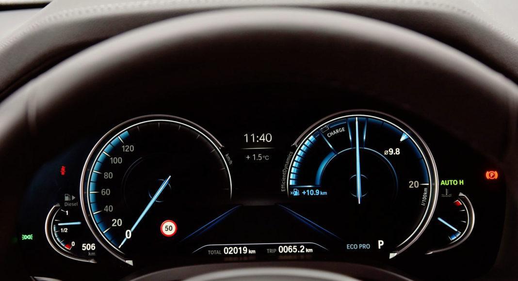 BMW X3 - zegary