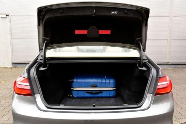 BMW serii 7 - bagażnik