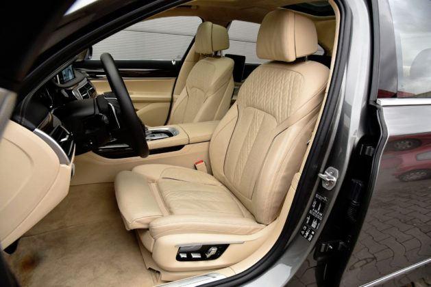 BMW serii 7 - fotel kierowcy