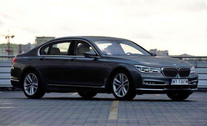 BMW serii 7 - przód