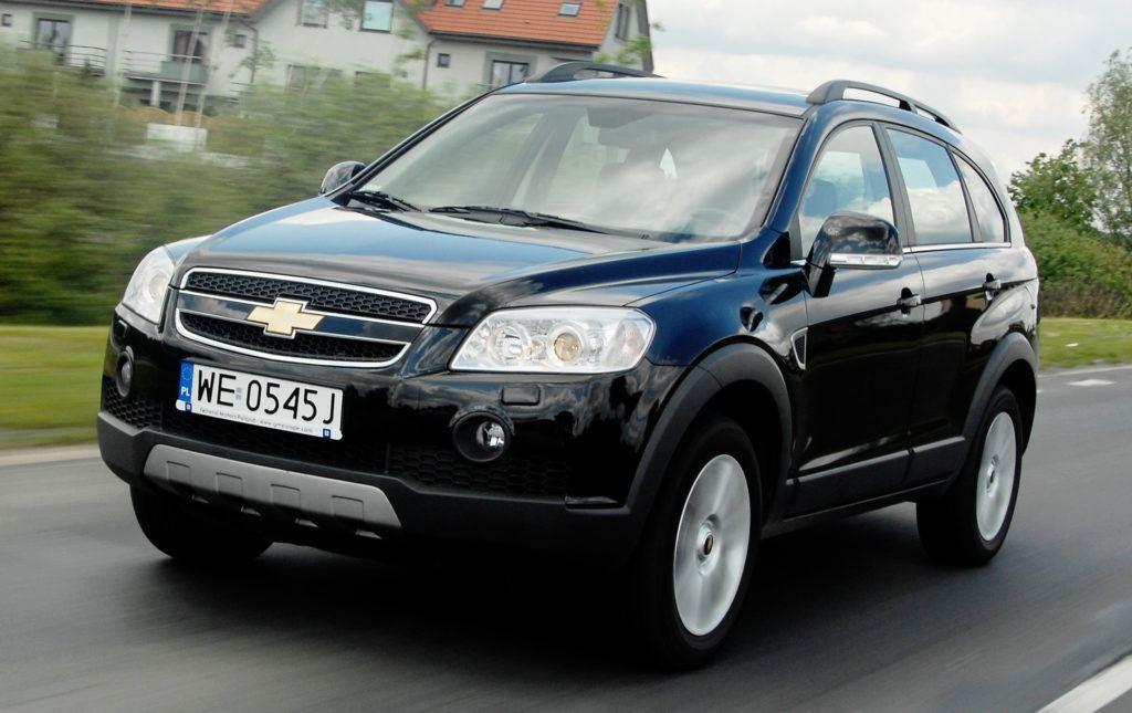Chevrolet Captiva - jazda