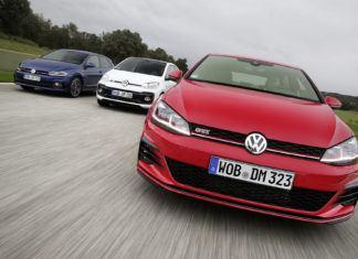 Volkswagen Up!, Polo i Golf –jedyna taka rodzina GTI
