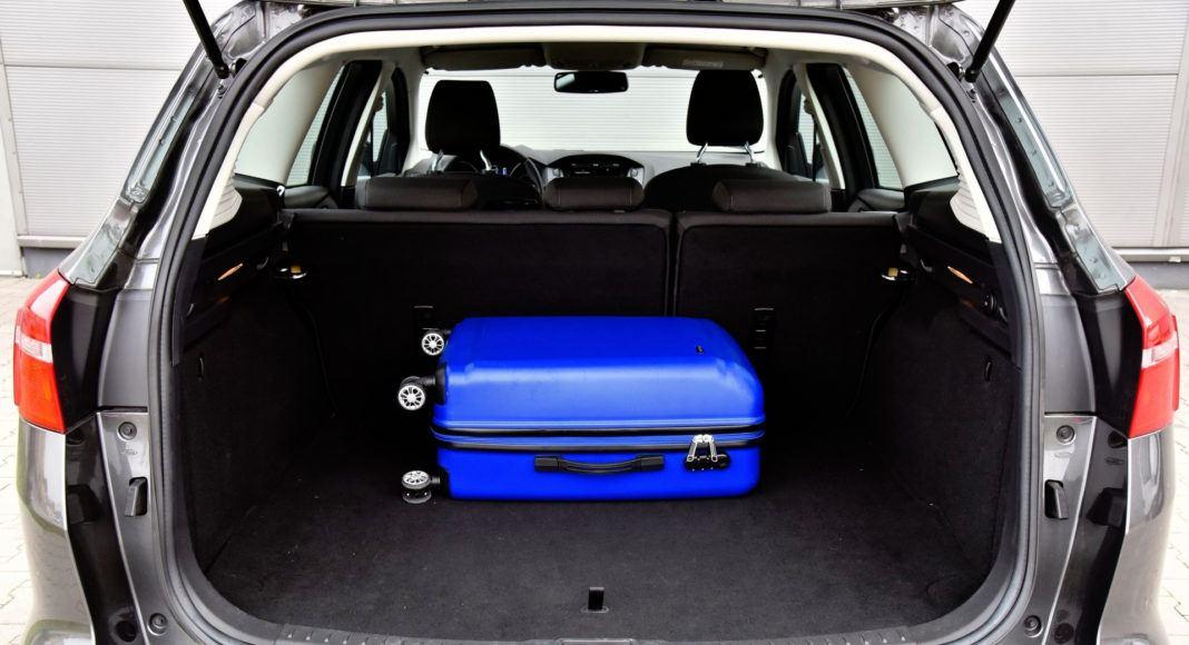 Ford Focus - bagażnik