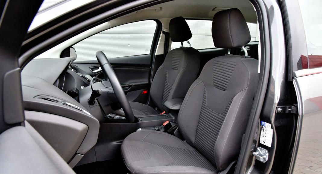 Ford Focus - fotel kierowcy