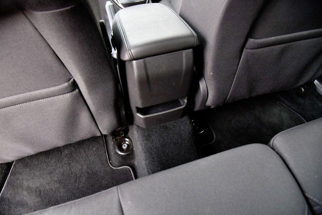 Ford Focus - podłokietnik