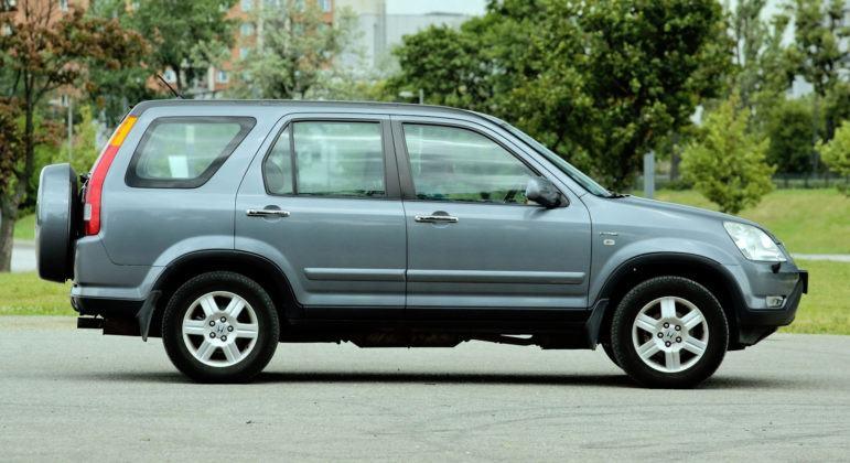Honda CR-V - bok