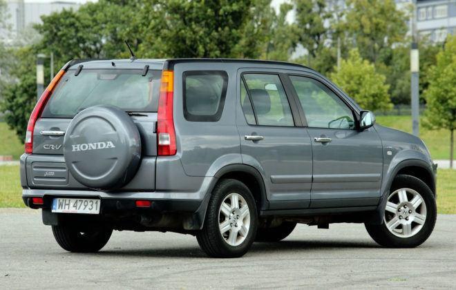 Honda CR-V - tył