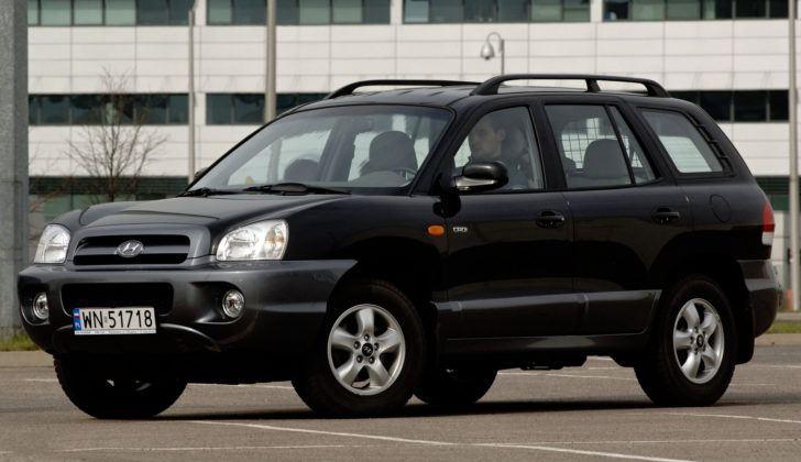 Hyundai Santa Fe - przód
