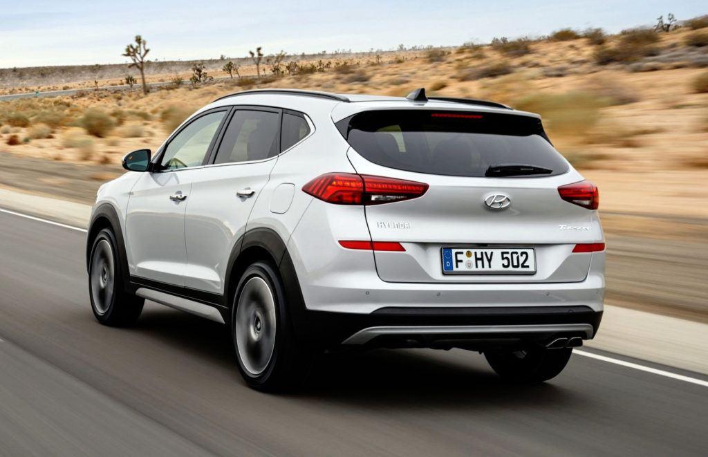 Hyundai Tucson po liftingu