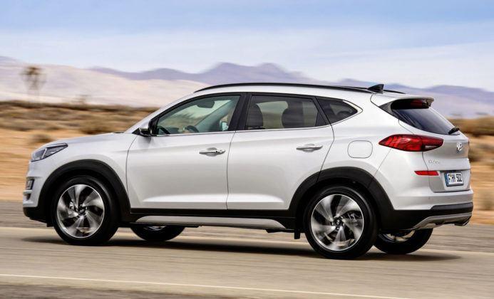 Hyundai Tucson FL - bok