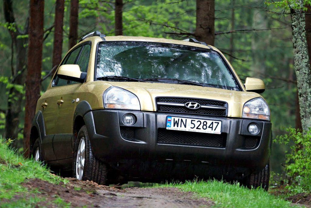 Hyundai Tucson - jazda