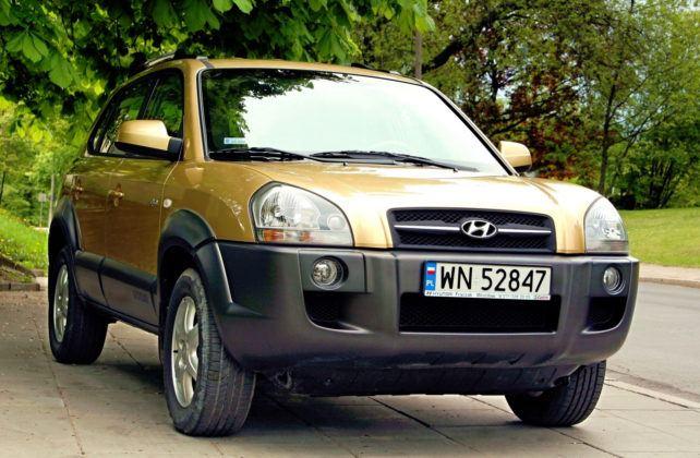 Hyundai Tucson - przód