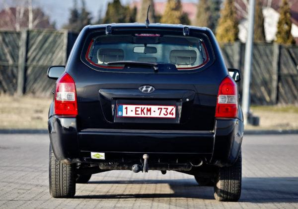 Hyundai Tucson - tył