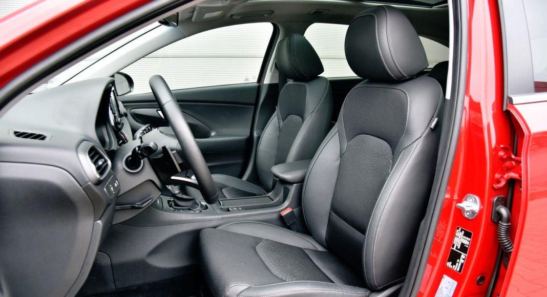 Hyundai i30 - fotel kierowcy