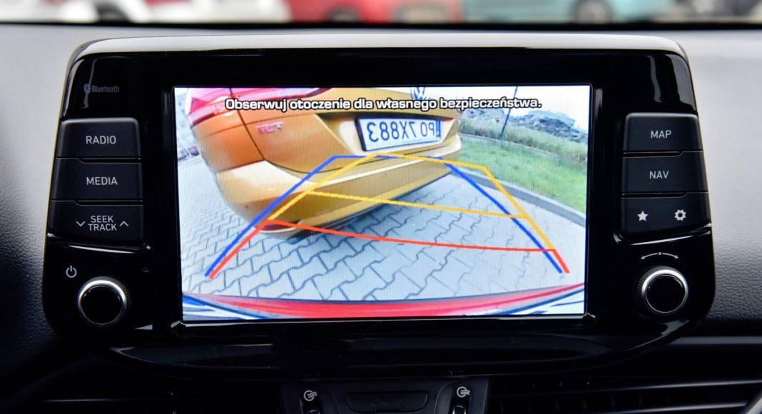 Hyundai i30 - kamera cofania